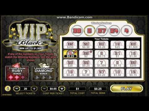 VIP Black Michigan Lottery