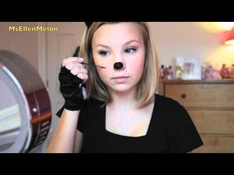 Last Minute Halloween: Cat Costume & Makeup!