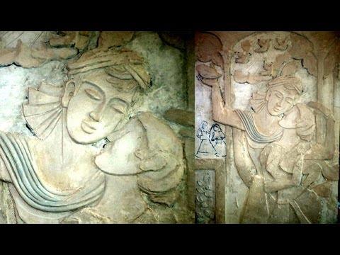 making wall relief mural artwork by Creative brahma
