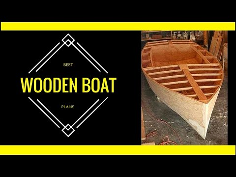 Simple Wooden Boat Plans [Skill Level Does Not Matter]