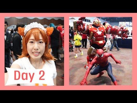 VLOG: ANIMANGAKI 2016 DAY 2!