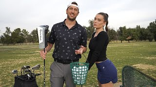 THE NIGHT SHIFT: teaching lana how to golf