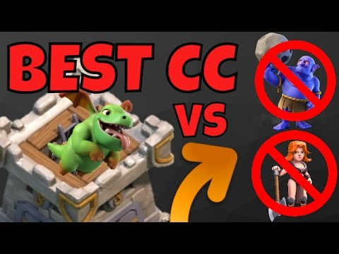Best Clan Castle Troops UPDATED | ANTI BOWLER & ANTI VALKYRIE | Clash Of Clans