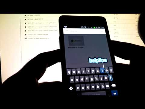 Android 4.2 Keyboard Demo (with built-in Swype)