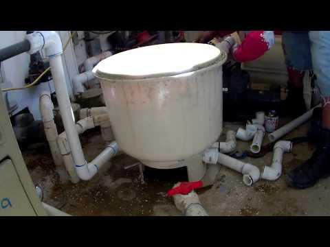 Ultimate Pool Guy - Plumbing repair with filter assembly - Pentair 4000 Series Pool Filter