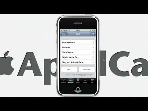 iPhone App - Apple Retail Store