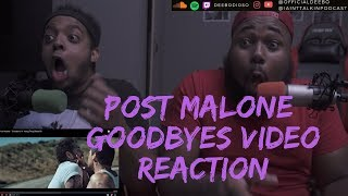 """Post Malone - """"Goodbyes"""" ft. Young Thug (Rated R) REACTION"""