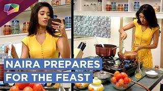 Naira And Suvarna Prepare For The Pooja In Goenka House | Yeh Rishta Kya Kehlata Hai | Star Plus