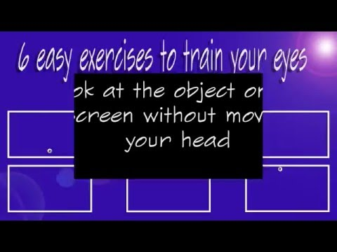 Train your eyes in 6 easy steps