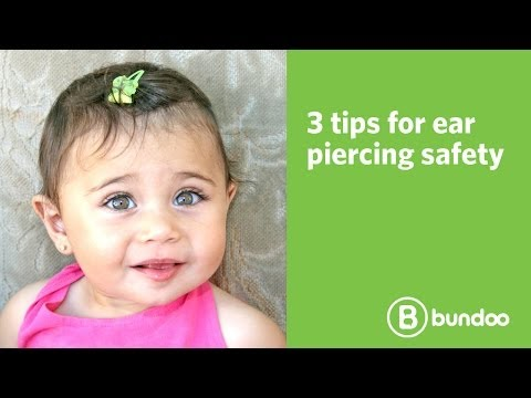 3 tips for ear piercing safety