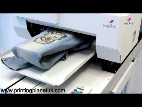 How to print t-shirts using DTG printers/ Cheap t-shirt printing