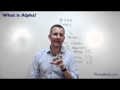 What is Alpha? - MoneyWeek Investment Tutorials