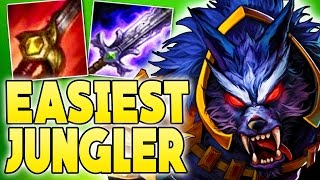 EASIEST JUNGLER EVER - How to Play Warwick Jungle in Season 7 - League of Legends