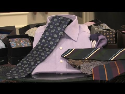 What Tie to Wear With My Lavender Dress Shirt : Neckties