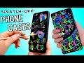 DIY Scratch-Off Phone Cases! Magic Reusable Iphone Cases! NO Wax Crayons!