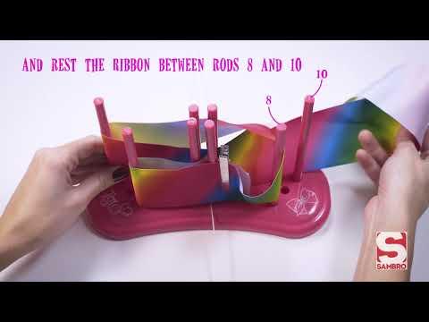 Jojo Siwa Bow Maker  How To Video