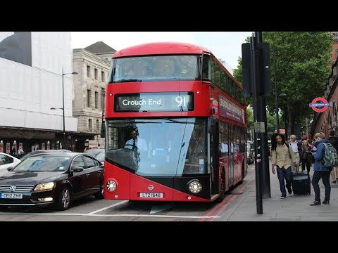 Metroline London   Wright New Bus for London   91 to Crouch End   LT646 (LTZ1646)