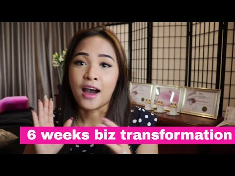 How to grow your business with the 6 weeks biz transformation- Reviewed by Paola