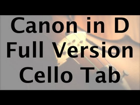 Learn Pachelbel's Canon in D on Cello - How to Play Tutorial