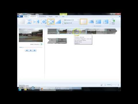 Movie Maker - How to Cut and Move Clips
