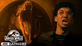 Jurassic World's Scariest Dinosaur Attacks in 4K HDR