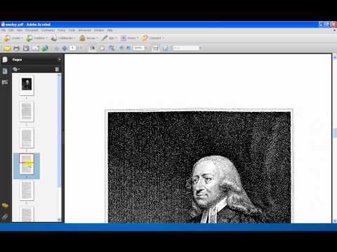 Processing A Multi-Page Tiff Using Adobe Acrobat Writer