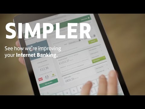 Lloyds Bank - Simpler Internet Banking is here