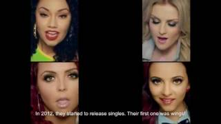 HAPPY 5 YEAR ANNIVERSARY LITTLE MIX