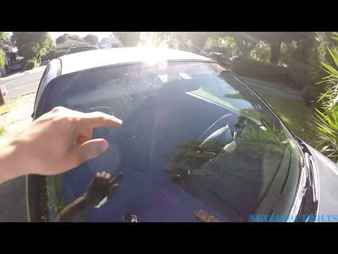 How to clean and aim your windshield washer nozzle