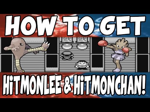How to get Hitmonlee and Hitmonchan on Pokemon Red/Blue!