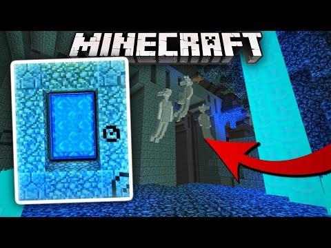 New UNDERWATER Dimension in MCPE! Minecraft Deep Sea Dimension Portal (Minecraft)