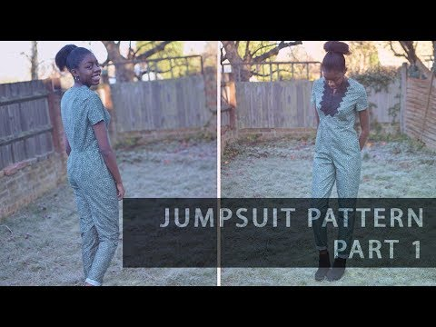 Pattern Drafting Tutorial – Jumpsuit Part 1 – The Trousers  • Elewa