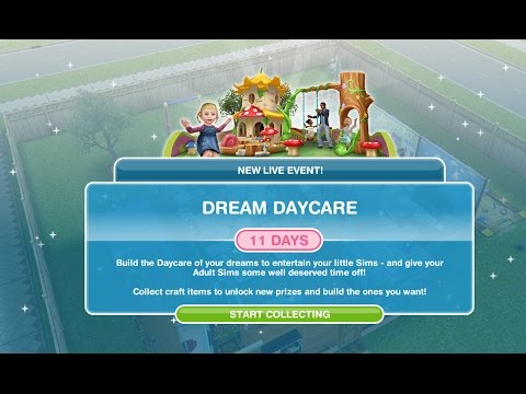 Simsfreeplay - Dream Daycare Live Event