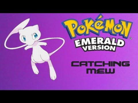 Pokemon Emerald: How to Catch Mew (using Gameshark)