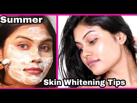 Summer Skin Whitening Tips | fair skin | VLCC Sunscreen SPF 60 | Review | Demo