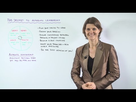 The Secret of Authentic Leadership - Leadership Training