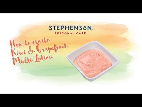 How to make Kiwi & Grapefruit Multi Lotion