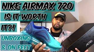 56491acbad Are They Worth It? | Nike Air Max 720 Unboxing Review | On Feet Visual