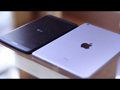 iPad Air vs LG G Pad 8.3 | Full Comparison