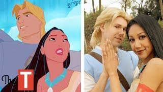 10 Disney Couples IN REAL LIFE