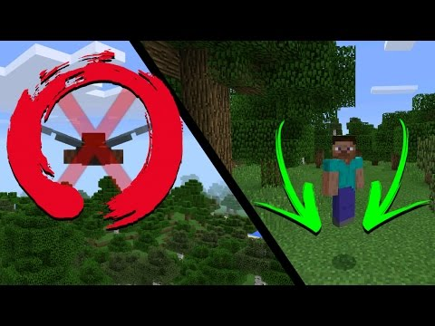 Flying Like A PRO in MINECRAFT Pocket Edition