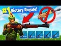 HUNTING RIFLE ONLY CHALLENGE In Fortnite Battle Royale