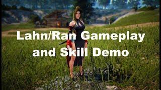 Black Desert Lahn/ran Gameplay And Abilities Showcase