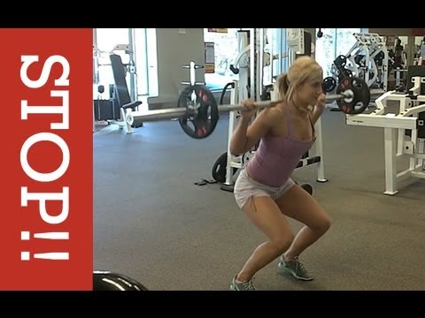 How to do a Squat and Lunge (PROPER FORM FOR WOMEN)