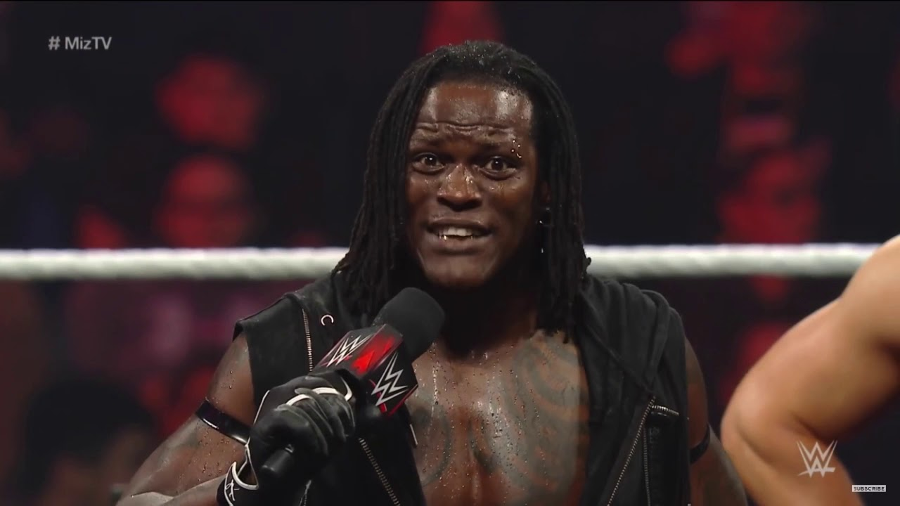 R-truth being a national treasure for 8 minutes and 43 seconds straight