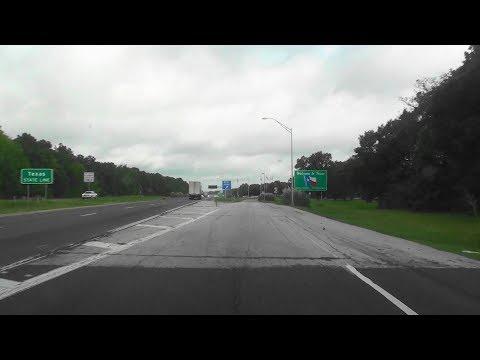 WELCOME TO TEXAS ON I-20 AT LOUISIANA BORDER