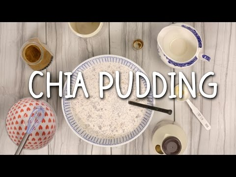 QUICK AND EASY CHIA PUDDING | Eileen Aldis