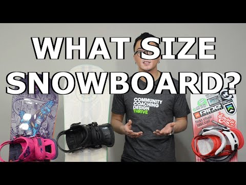 Snowboarding 101: What Size Snowboard? Length?