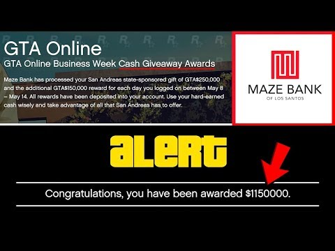 The FREE Money Being Deposited Into People's Accounts + New GTA Online DLC Branch Info