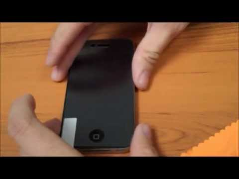 How to: Install an iPhone 4 Screen Protector
